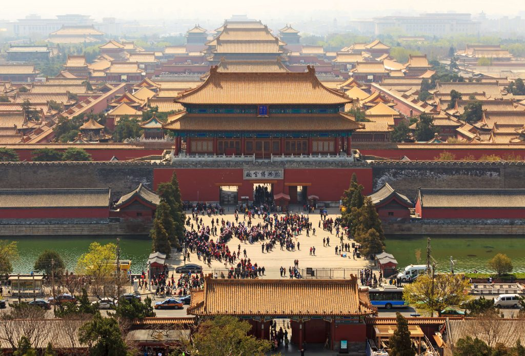 Forbidden City in Beijing.